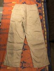 画像6: 40s US.Army  45 Khaki Trousers  W34 L31 (6)