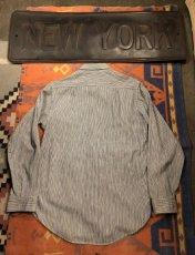 画像4: 50s Lee Half Zip  Work Shirt  Size 14-14 1/2 (4)