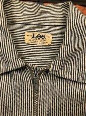 画像2: 50s Lee Half Zip  Work Shirt  Size 14-14 1/2 (2)
