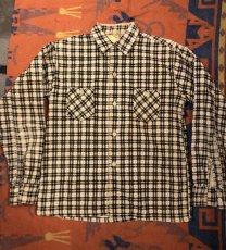 画像1: 50s Print Corduroy Shirt (1)