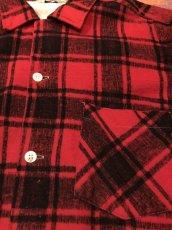 画像4: 50s HARLEY  Print Flannel (4)