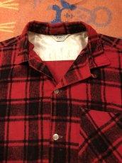 画像2: 50s HARLEY  Print Flannel (2)