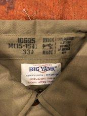 画像2: BIG YANK  Work Shirt  Dead Stock (2)