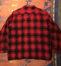 画像5: 50s HARLEY  Print Flannel (5)