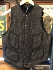 画像1: 40s Brown's Beach Vest (1)