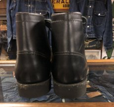 画像3: 40s Work Boot  Dead Stock  ブラック (3)