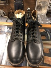 画像6: 40s Work Boot  Dead Stock  ブラック (6)