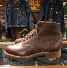 画像2: ~50s Dead Stock  Work Boot  ブラウン (2)