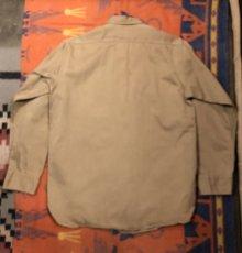画像5: ~50s Hercules コットン・ツイル Work Shirt  Size 15 1/2 (5)
