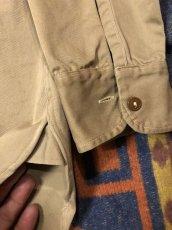 画像4: ~50s Hercules コットン・ツイル Work Shirt  Size 15 1/2 (4)