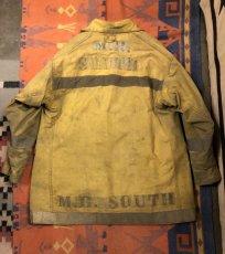 画像2: 5~60s Fireman Coat  Back Stencil (2)
