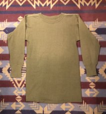 画像1: 40s US.Army  Cotton・Wool  Shirt (1)
