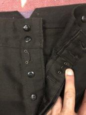 画像7: 50s French Work  Pants  Dead Stock  Black (7)