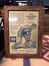 画像1: 1910s  Finck's Overall  Advertising (1)