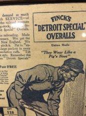 画像3: 1910s  Finck's Overall  Advertising (3)