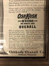 画像4: 1910s  OSH-KOSH  B'GOSH  Advertising (4)