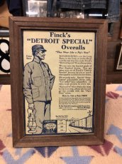画像2: 1910s  Finck's Detroit Special  Advertising (2)