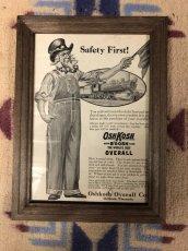 画像1: 1910s  OSH-KOSH  B'GOSH  Advertising (1)