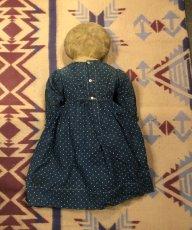 画像9: 1900~10s  Indigo Dot Doll   (9)