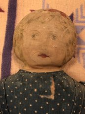 画像3: 1900~10s  Indigo Dot Doll   (3)