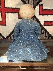 画像1: 1900~10s  Indigo Dot Doll   (1)