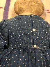 画像10: 1900~10s  Indigo Dot Doll   (10)