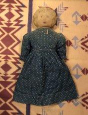 画像2: 1900~10s  Indigo Dot Doll   (2)