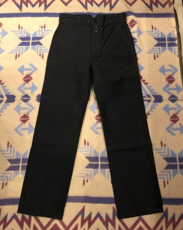 画像1: 50s French Work Pants  Dead Stock (1)