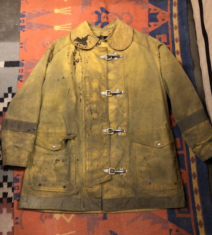 画像1: 5~60s Fireman Coat  Back Stencil (1)