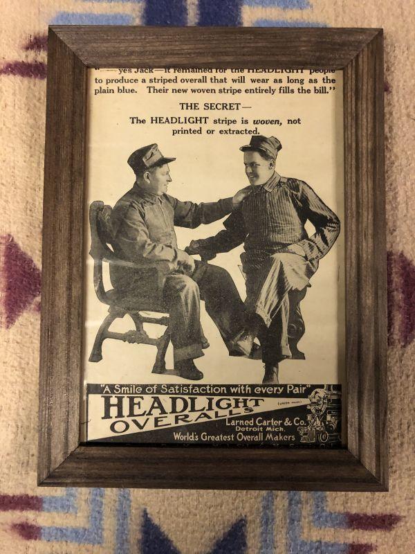 画像1: 1910s  HEADLIGHT  Advertising (1)