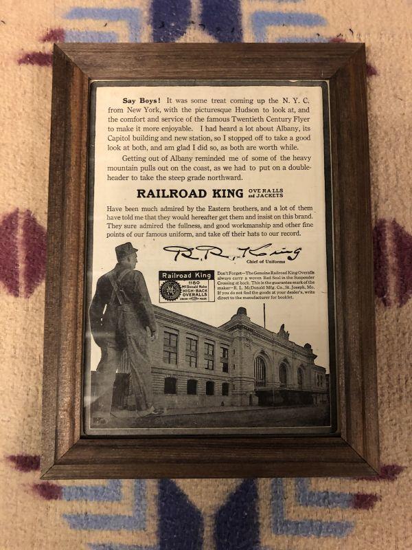 画像1: 1910s  RAILROAD KING  Advertising (1)
