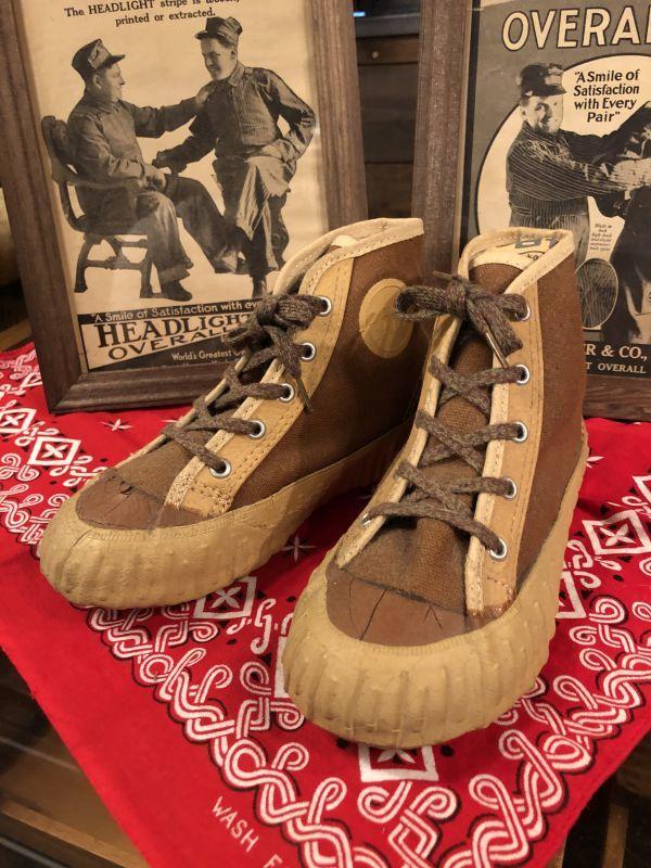 画像1: ~40s  BALL BAND  Kid's Sneaker (1)